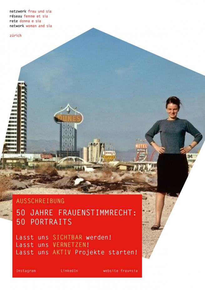 50 Jahre Frauenstimmrecht - 50 Portraits