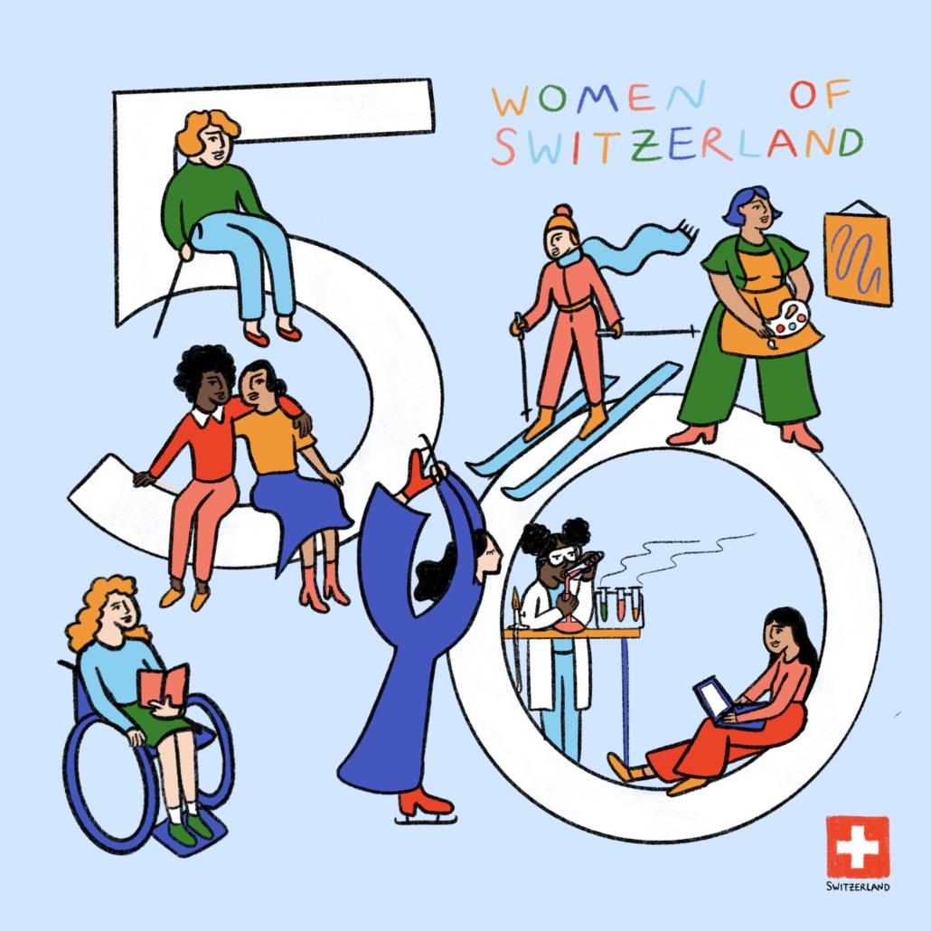 Donne svizzere: un Paese in 50 ritratti